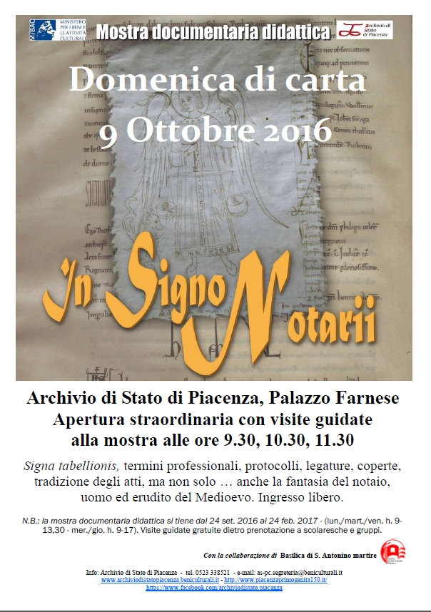 In signo notarii